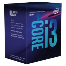 INTEL Core i3-8100 3,60GHz 4-core 6MB LGA1151 BOX procesor