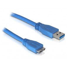 Kabel USB 3.0-A > USB 3.0-Micro Moški/Moški 1m