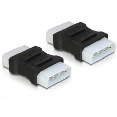 Adapter Power 4pin 5¼ Moški/Moški Delock