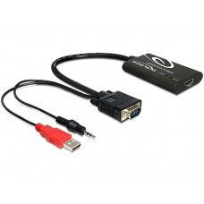 Delock Adapter HDMI > VGA + avdio kabel
