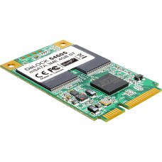 Delock mSATA 6 Gb/s flash modul A19 4 GB